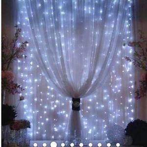 Agptek 3Mx3M 300 led string light curtain light